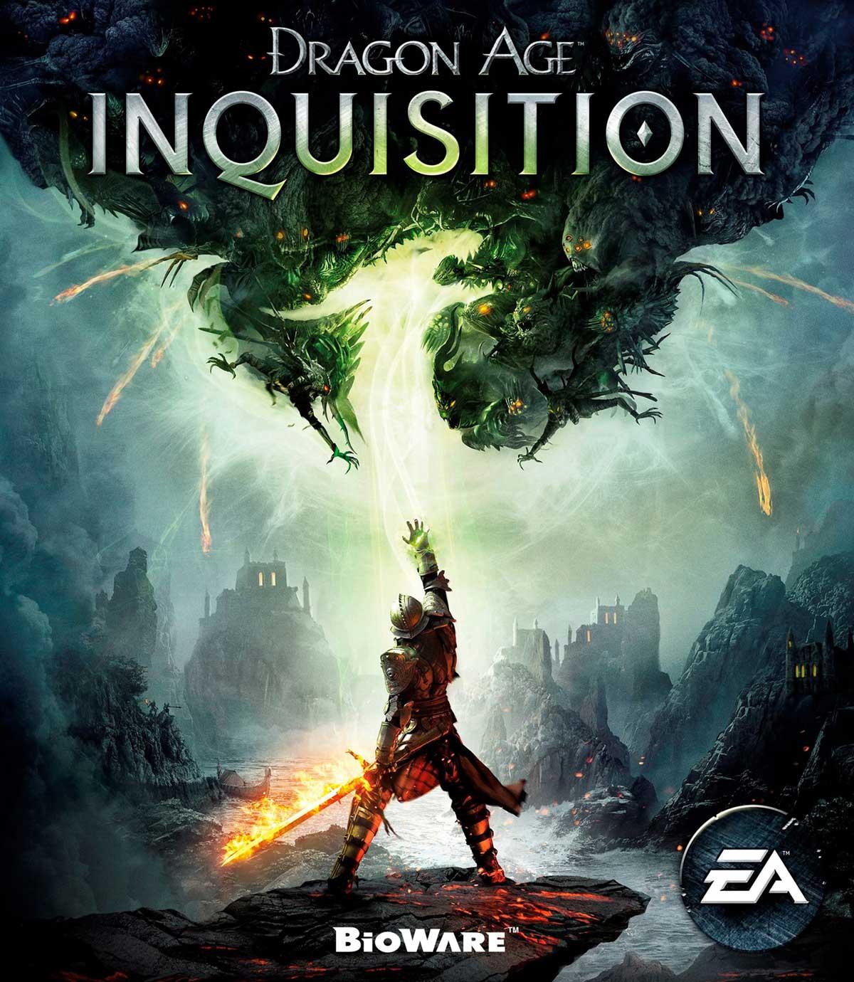 از کاور Dragon Age Inquisition رونمایی شد