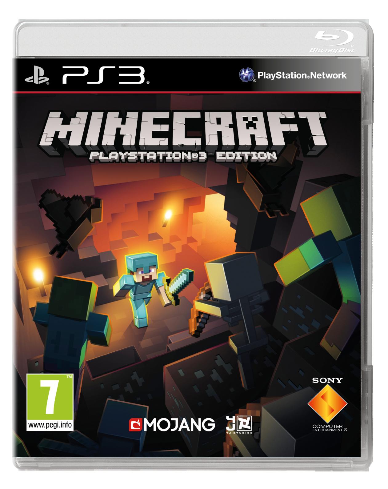 minecraft ps3 boxart