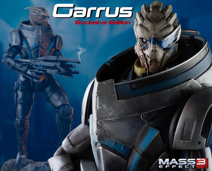 mass effect garrus statue