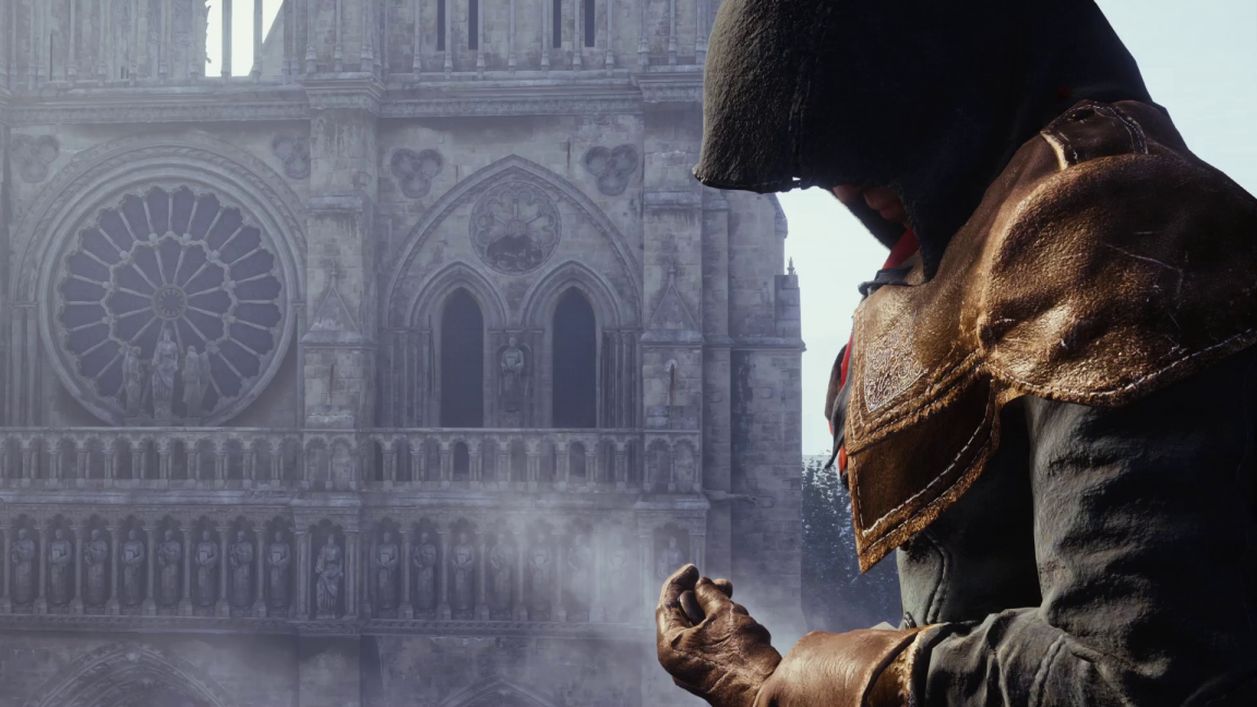 Death To Old Gen Assassin S Creed Unity Takes Us To The Future