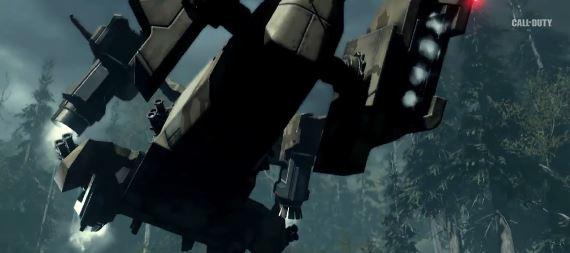 Call of duty advanced Warfare airship جنگ های پیشرفته در راه است : نکات جدید تریلر Call of Duty : Advanced Warfare