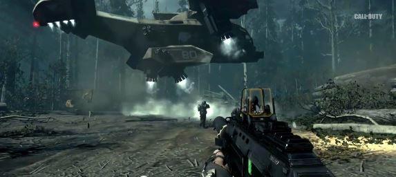Call of duty advanced Warfare gun جنگ های پیشرفته در راه است : نکات جدید تریلر Call of Duty : Advanced Warfare