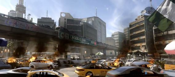 Call of duty advanced Warfare new york جنگ های پیشرفته در راه است : نکات جدید تریلر Call of Duty : Advanced Warfare