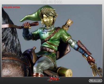 Link on Epona Figurine