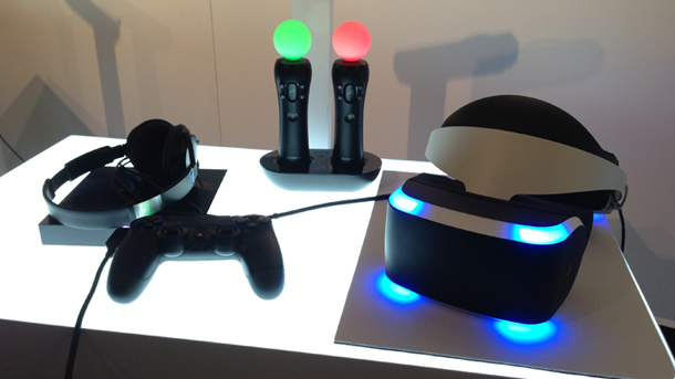 Project Morpheus, las gafas de Realidad Virtual de Sony para PS4.