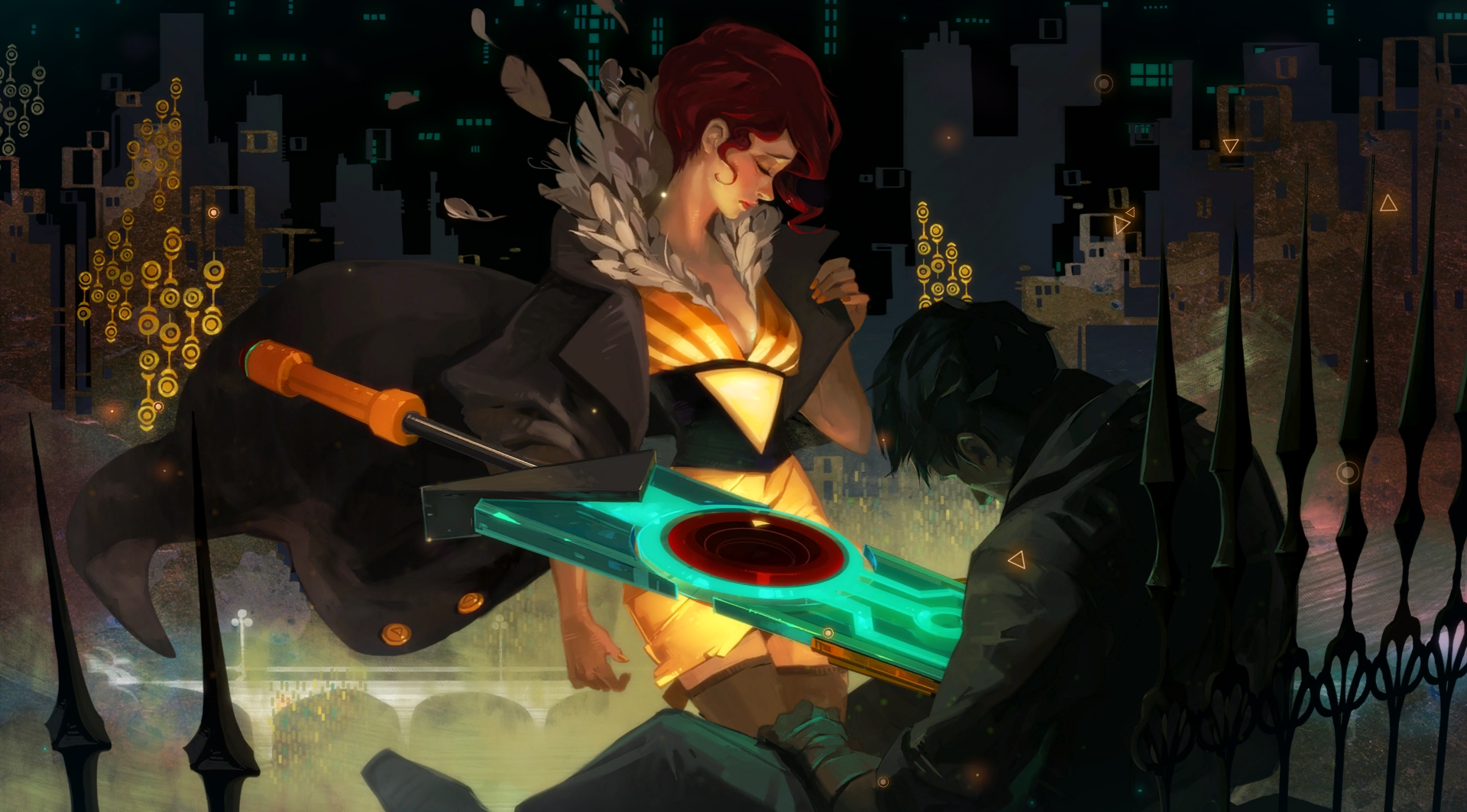 Transistor is a free download through the Epic Games Store until May 2