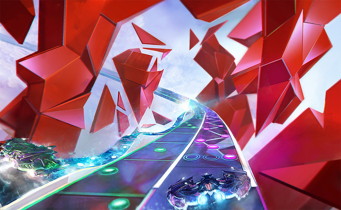 Amplitude is a PS4 and PS3 exclusive no PC Mac or Linux support