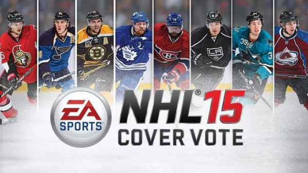 NHL 15 cover vote