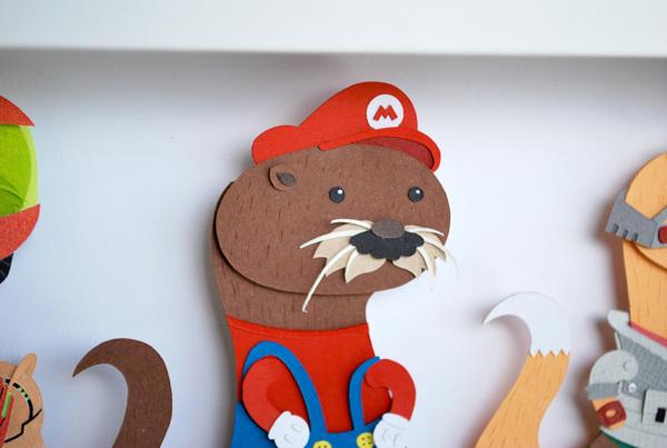 nintendo_papercraft-otter_2