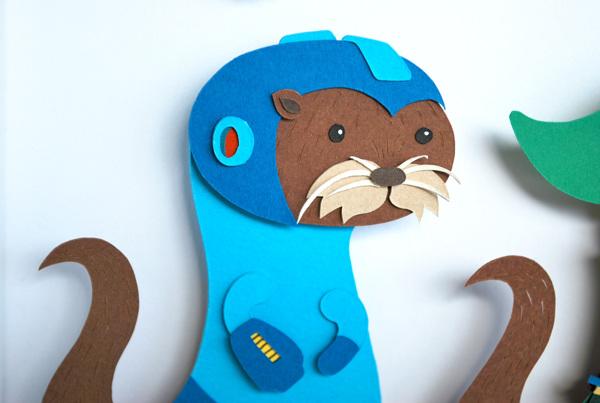 nintendo_papercraft-otter_4