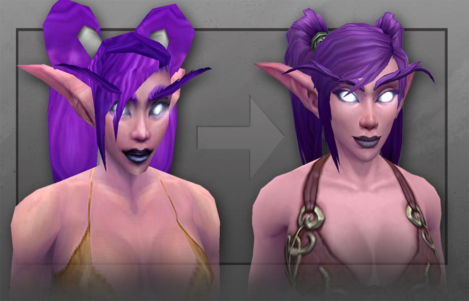 Musclier Hairier And Wearing Better Undies Meet Wows New Night Elf Vg247