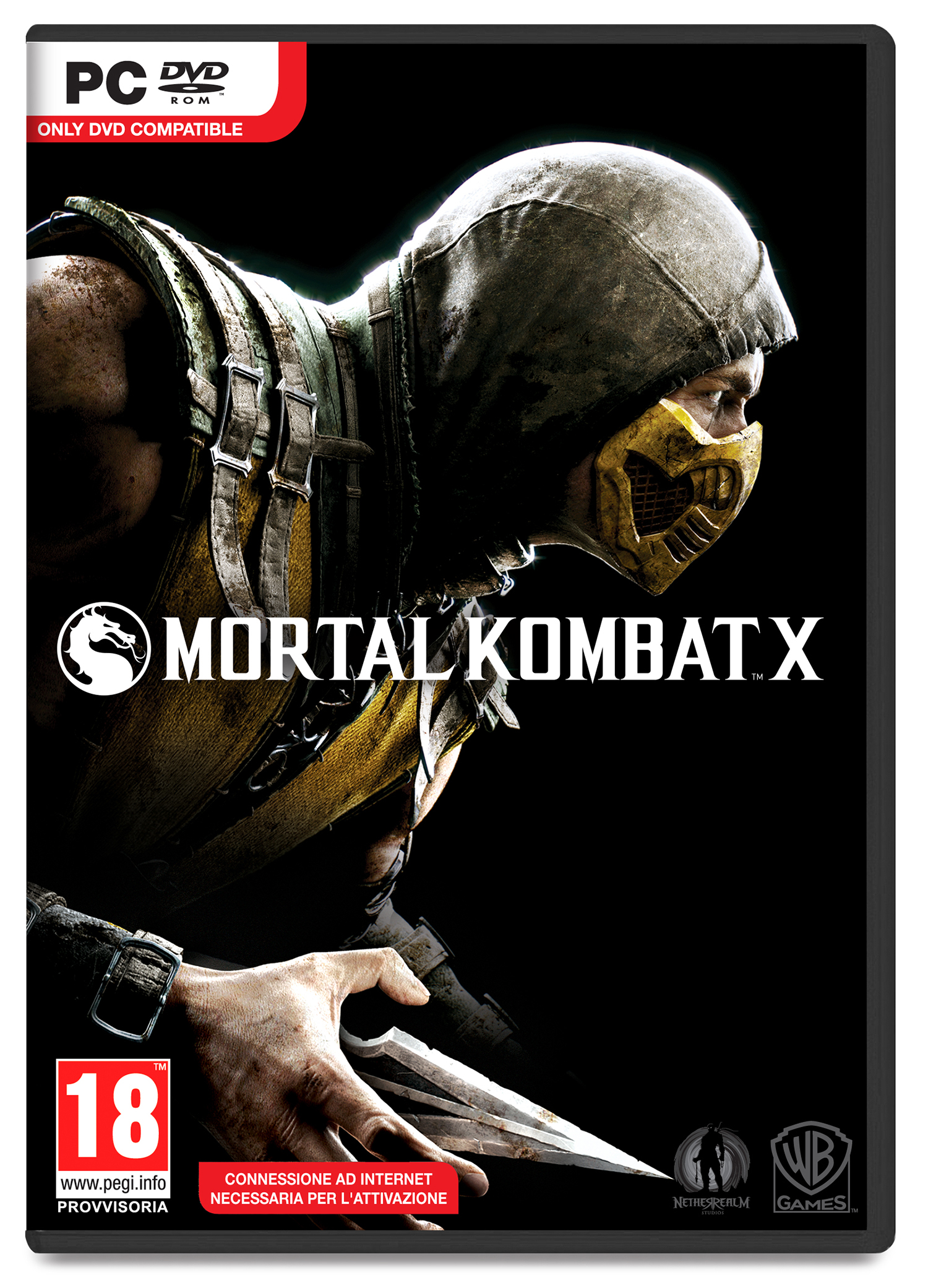 Mortal Kombat X PC cover