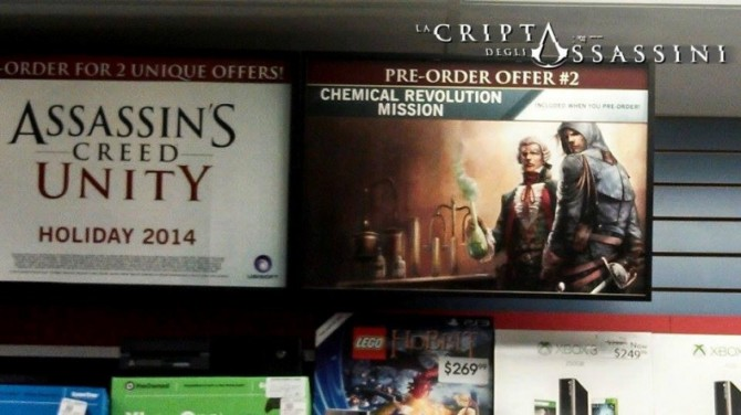 assassins creed unity ps4 xbox one dlc