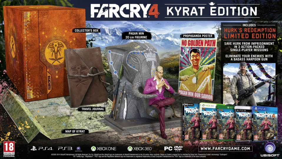 Take A Gander At What S Included In The Far Cry 4 Kyrat Edition Video Vg247