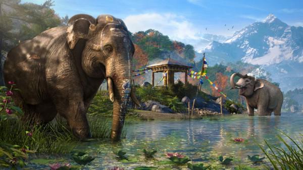 far_cry_4 elephant