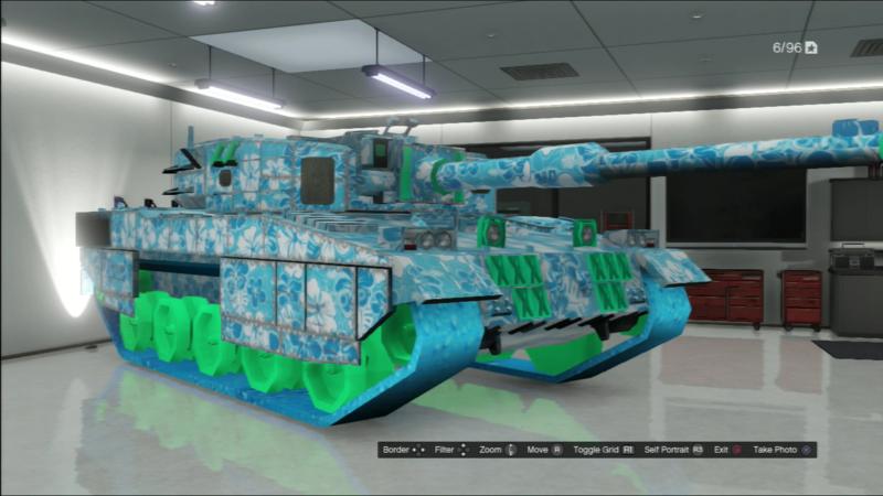 Hawaiian Tank