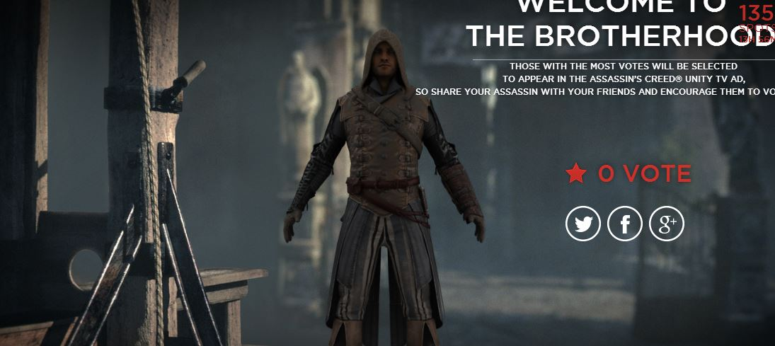 This Site Lets You Make Your Own Assassin S Creed Unity Character
