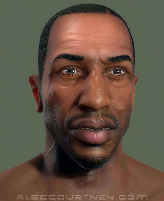 gta 5 pc mods incoming what cj from san andreas looks like in 2014