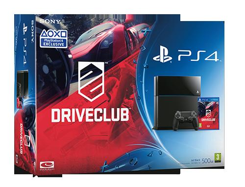 driveclub ps4 console bundle