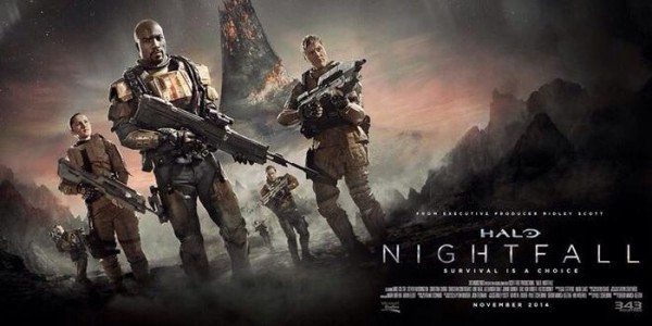 halo nightfall key art