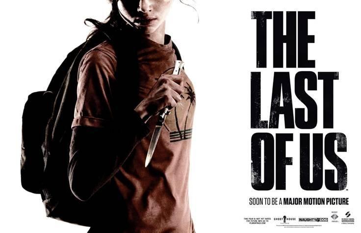 last of us movie promo sdcc
