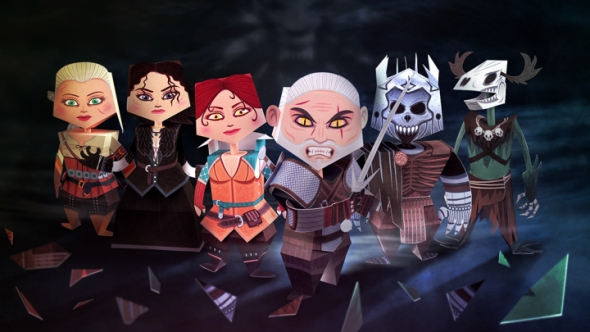 witcher_papercraft1