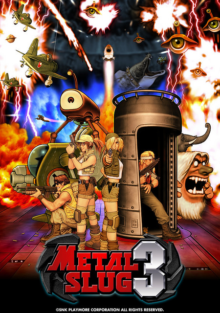 Best Neo Geo Games - Metal Slug 3
