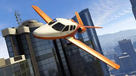 GTA ONline flight school