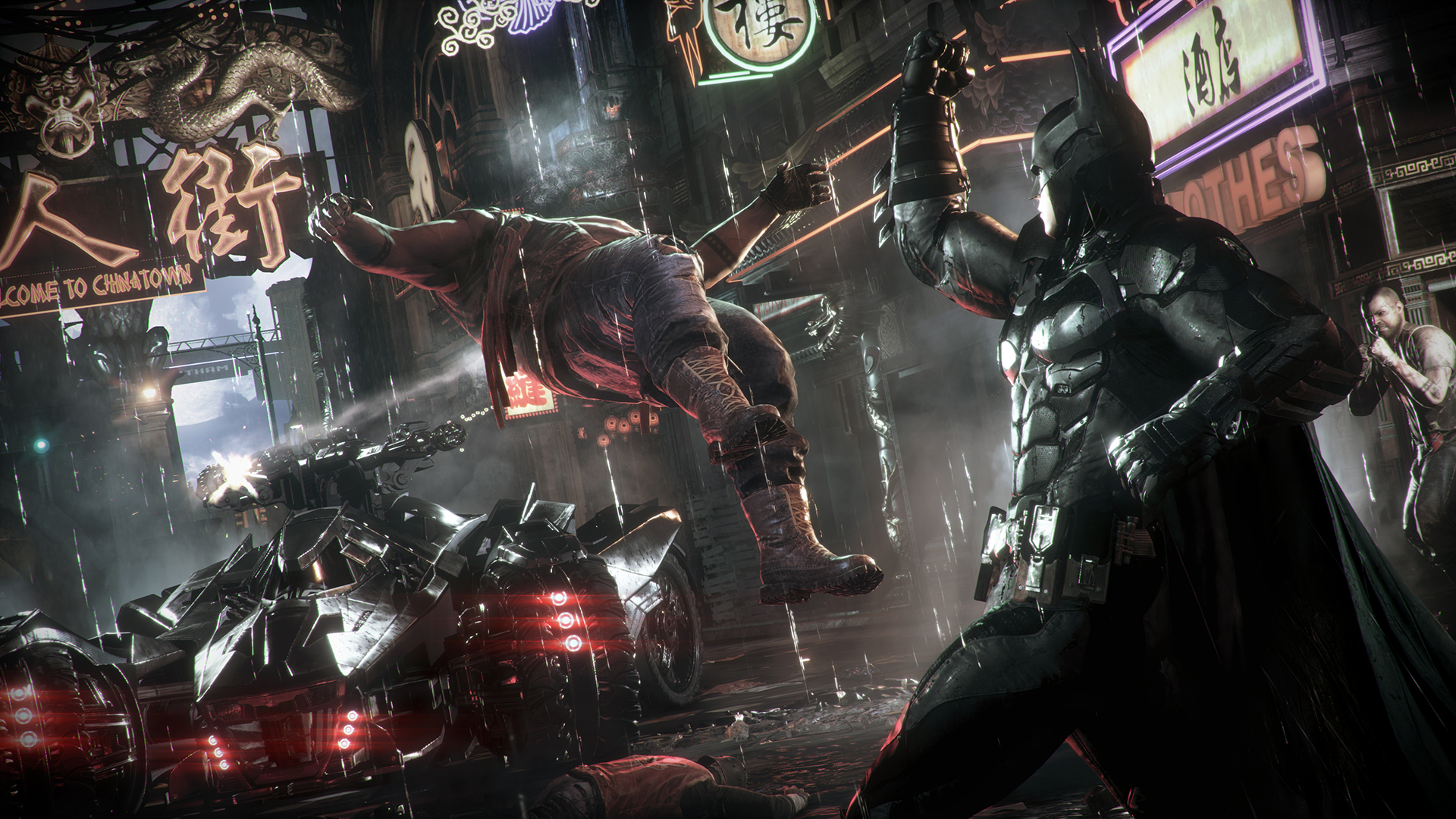 The Batmobile Looks Badass In These Batman Arkham Knight Screenshots