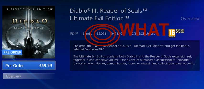You should probably get Diablo 3: Ultimate Edition on disc - VG247