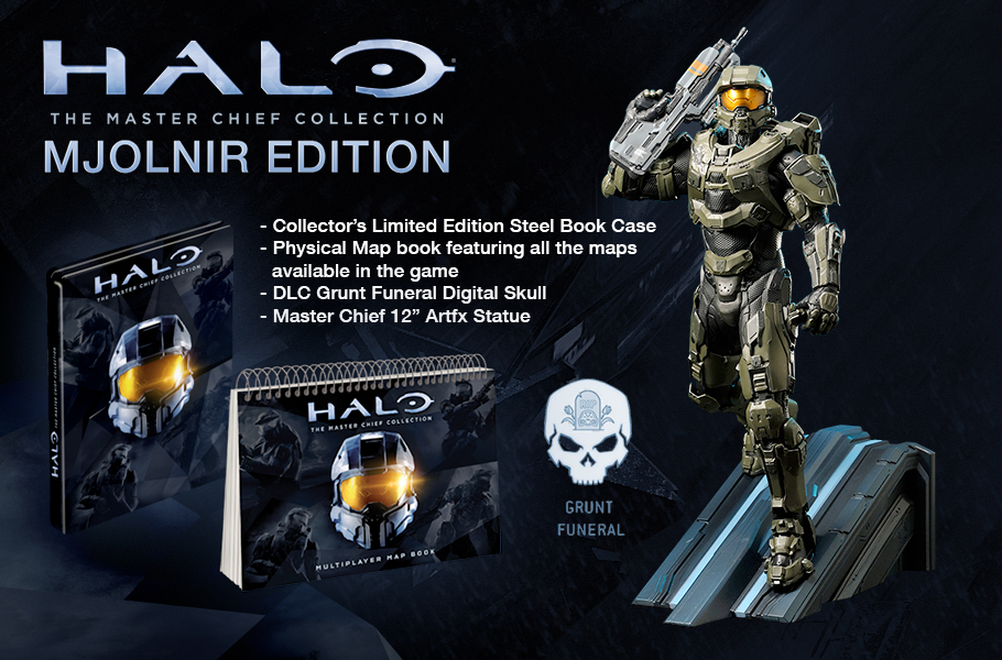 These Halo: Master Chief Collection special editions seem to