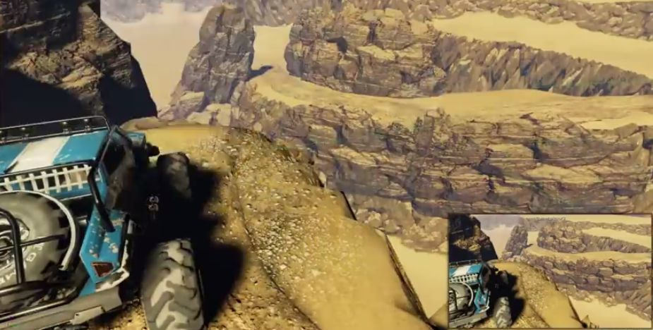 This Unreal Engine 4 desert scene was created in less than four