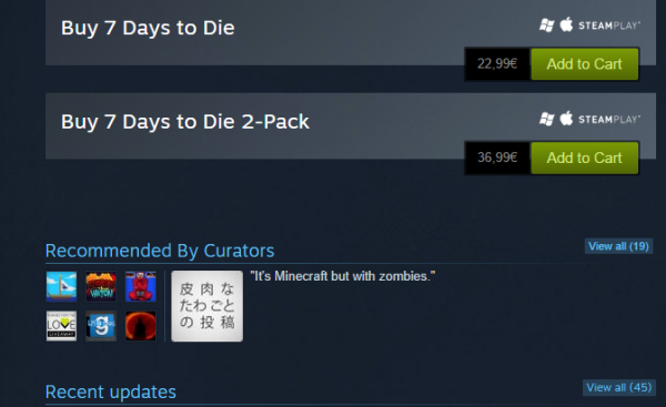 steam curators abuse