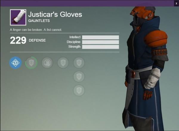 justicaras Gloves Joshua G