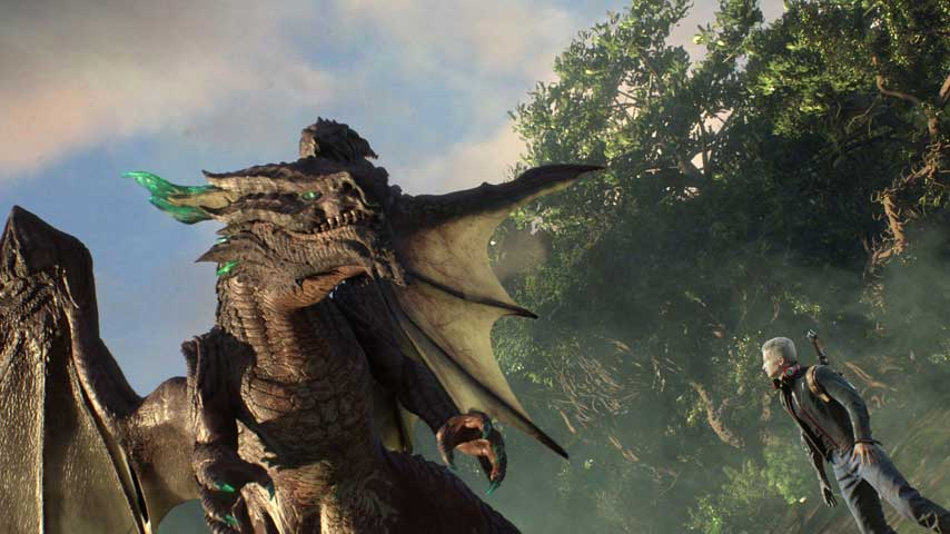 Scalebound Is Probably An Open World Action Game Vg247