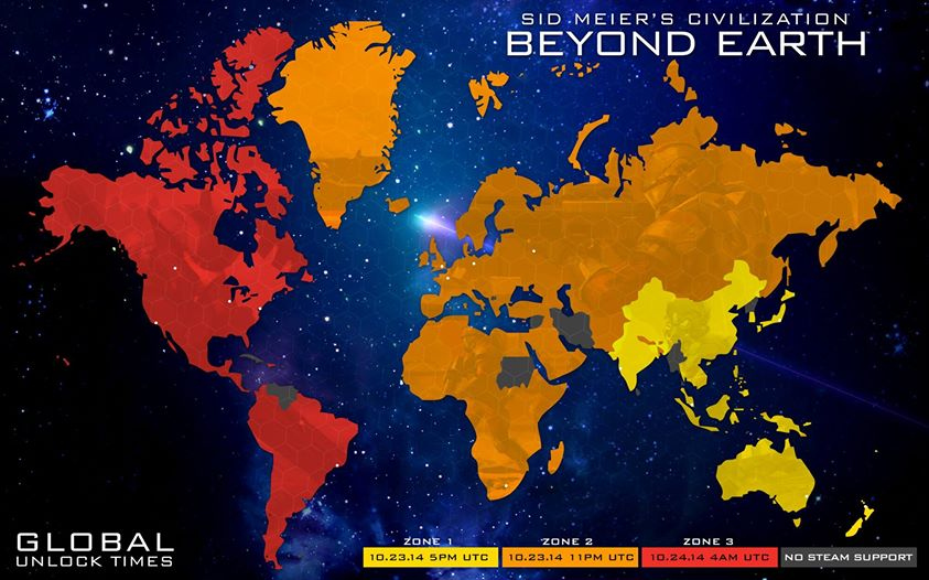 civilization beyond earth unlock times