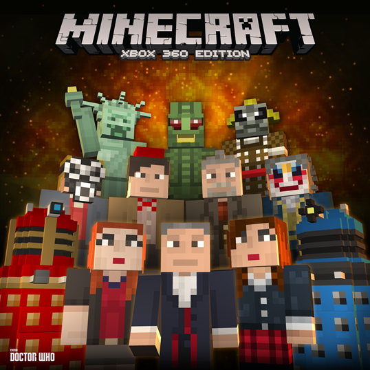 minecraft xbox 360 the daleks and doctor who have arrived vg247