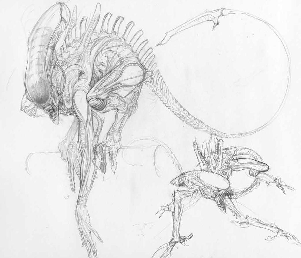 Original Concept Art For Alien Alien Isolation Concept Art 11