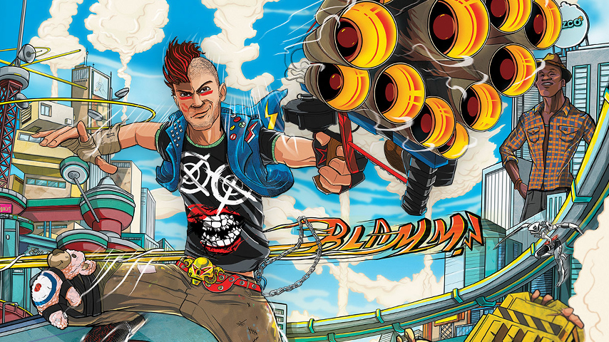 Sunset Overdrive is coming to Steam and Windows Store today