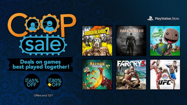 PSN black friday co-op sale