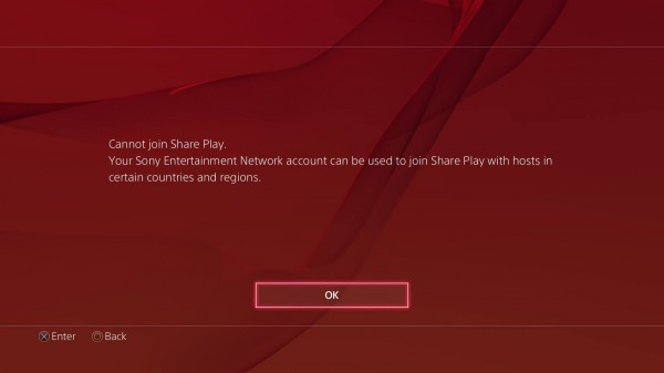 psn germany share play restriction