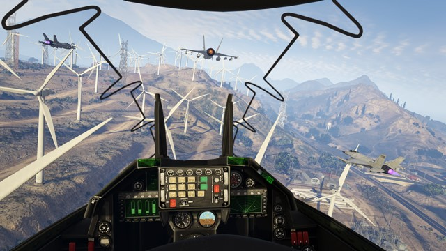 The GTA Online First Person Experience