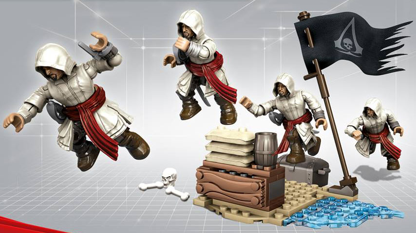 Assassin S Creed Mega Bloks Deal To Expand Brand S Audience To