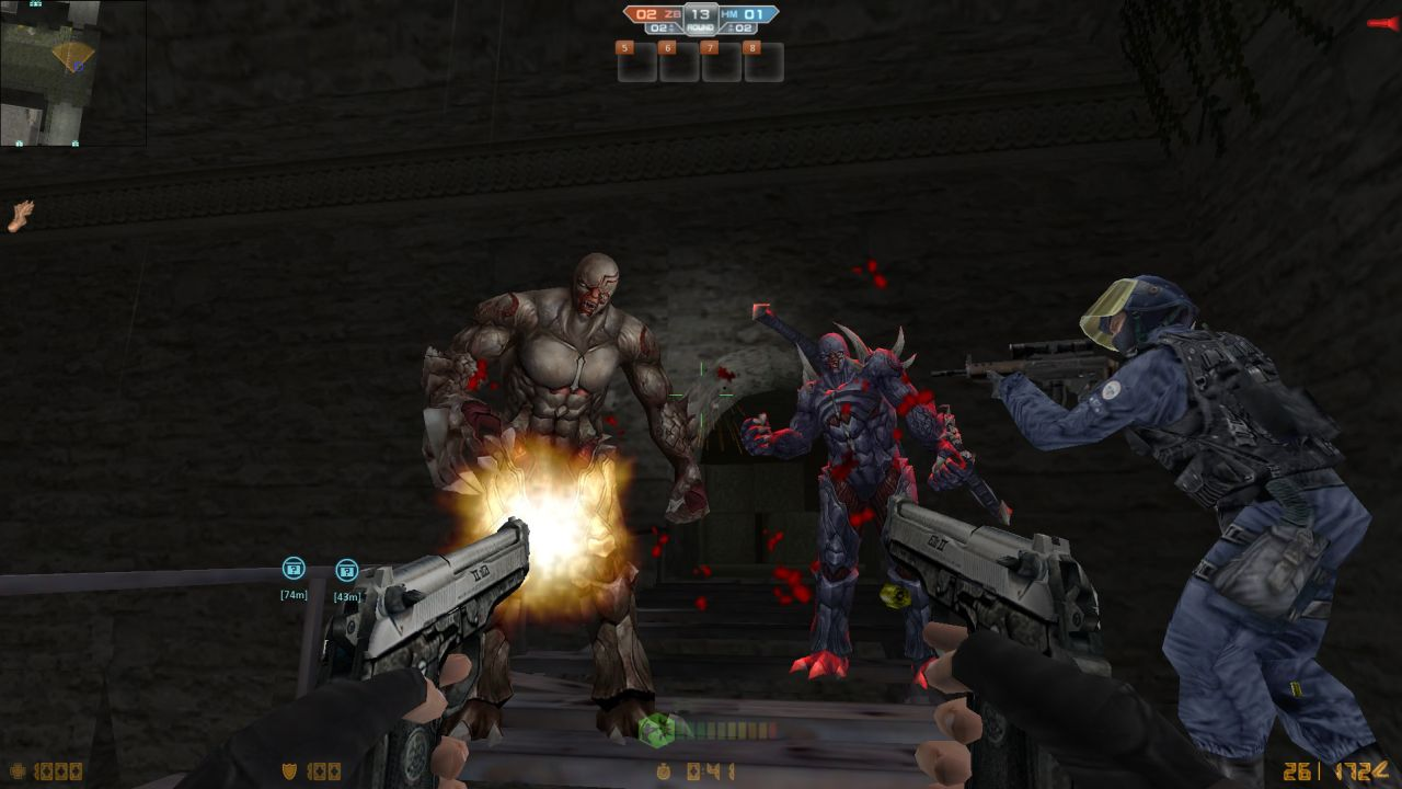 New Content For Counter Strike Nexon Zombies Released With Zombie Types
