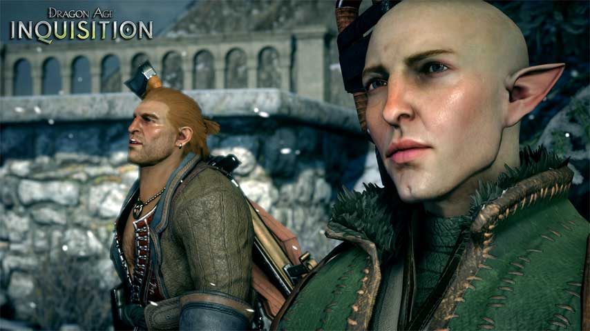 You should be hearing a lot more banter in Dragon Age
