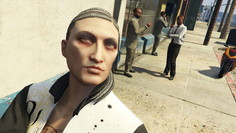 The true triumph of gta onlines character customisation it lets gta5oldselfieheader voltagebd Images
