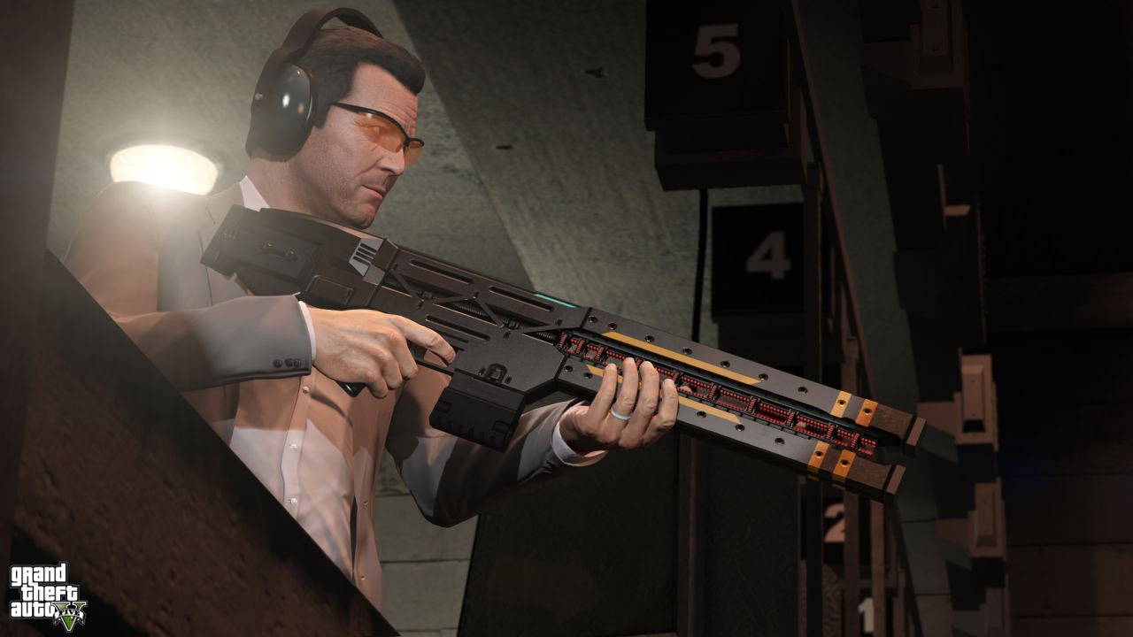 Gta 5 New Guns Gta 5 Watch The New Railgun