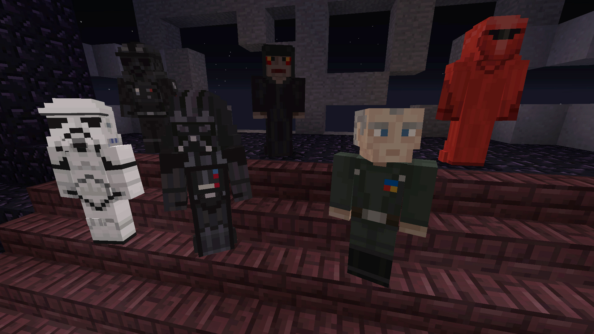Minecraft Star Wars DLC Brings Favourite Character Skins To Xbox - Skin para minecraft android y pc