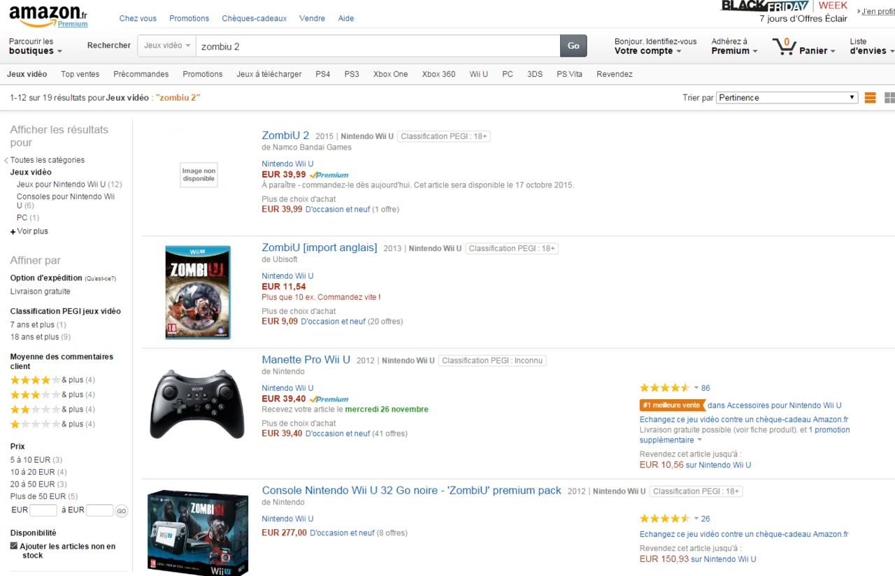 Zombiu 2 Listed On Amazon France Vg247