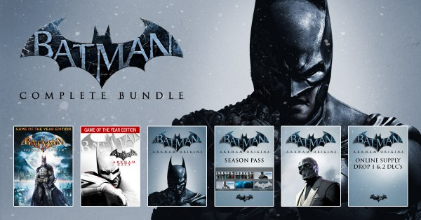 batman arkham bundle stars